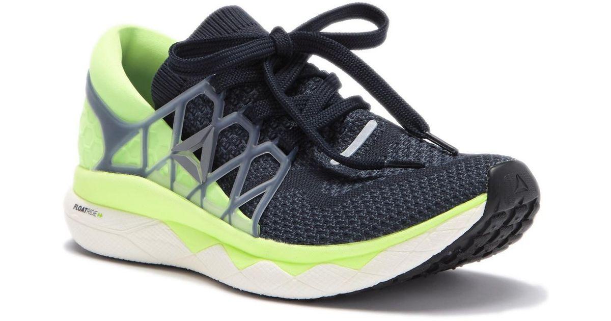8af509ea25c Lyst - Reebok Floatride Run Ultraknit Running Sneaker in Blue for Men