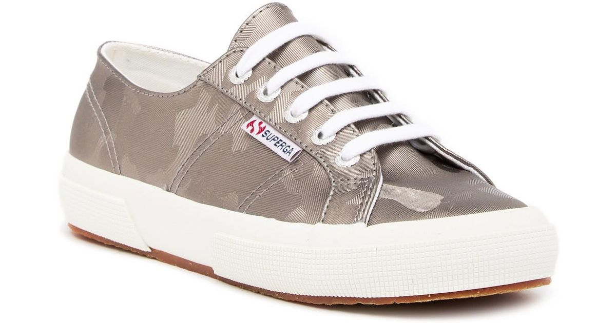 Sneaker Superga Army Chrome 2750 Gray 4ARL5j