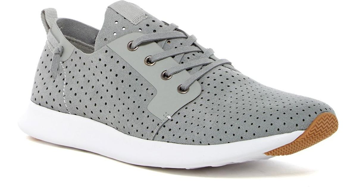b9c63a7f513 Steve Madden Gray Chyll Perforated Sneaker for men