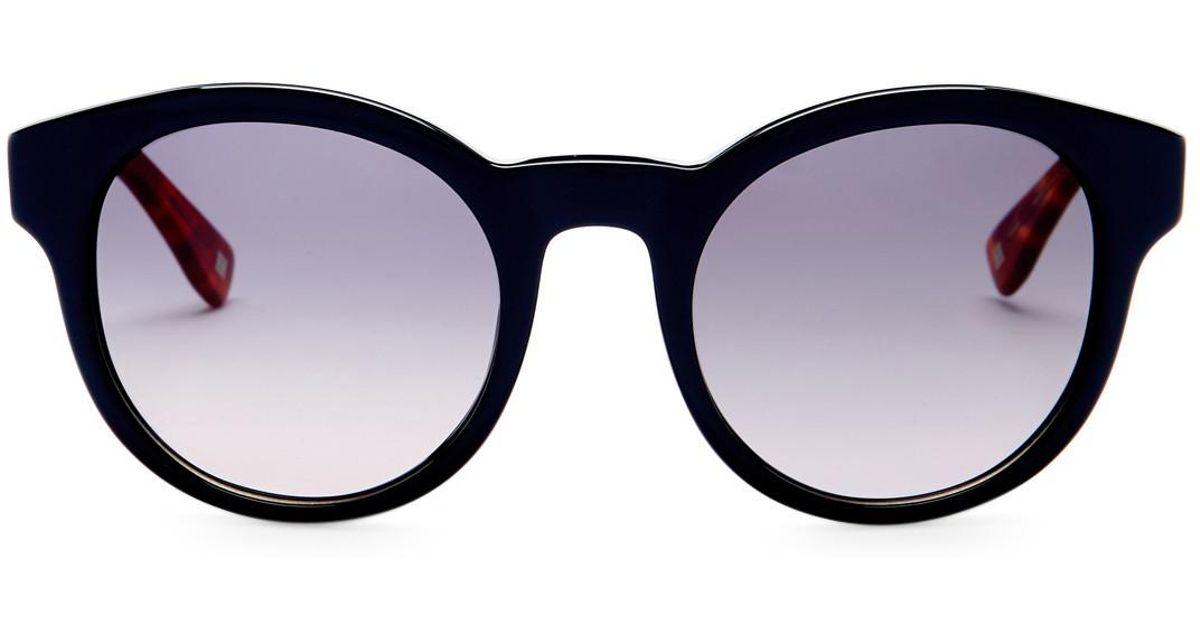 900c78fa35 Lyst - ESCADA Cat Eye Sunglasses in Blue