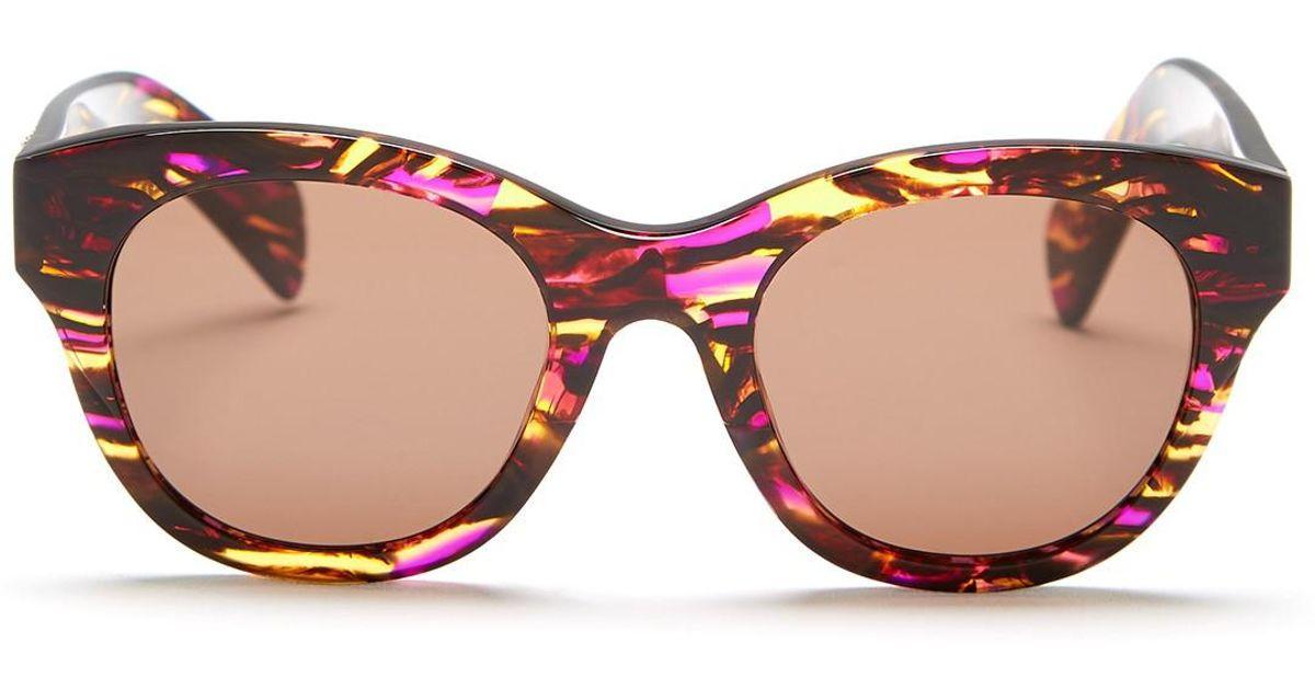 b8fe16c40448a Lyst - Wildfox Women s Monroe Cat Eye Acetate Frame Sunglasses