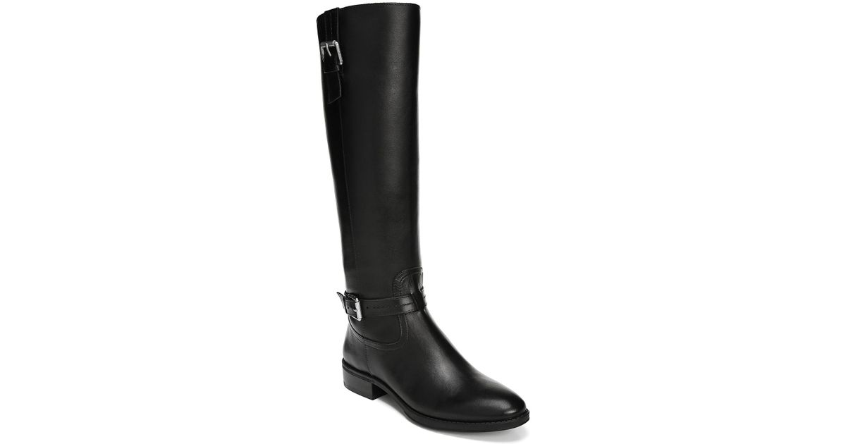 be6f032d30c Sam Edelman Black Ponce Buckle Tall Boot