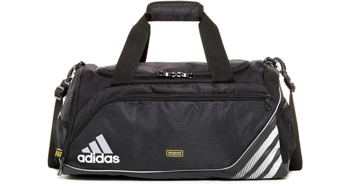 38404a6969 Lyst - adidas Team Speed Small Duffle Bag in Black for Men