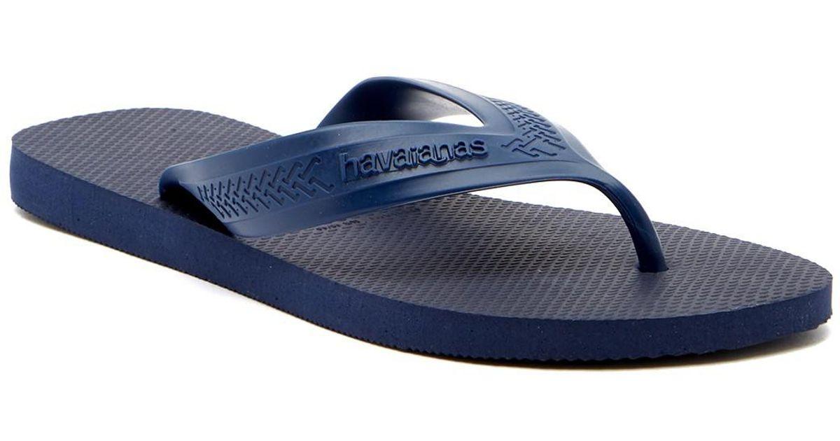 647d0e296 Lyst - Havaianas Top Max Flip Flop (men) in Blue for Men