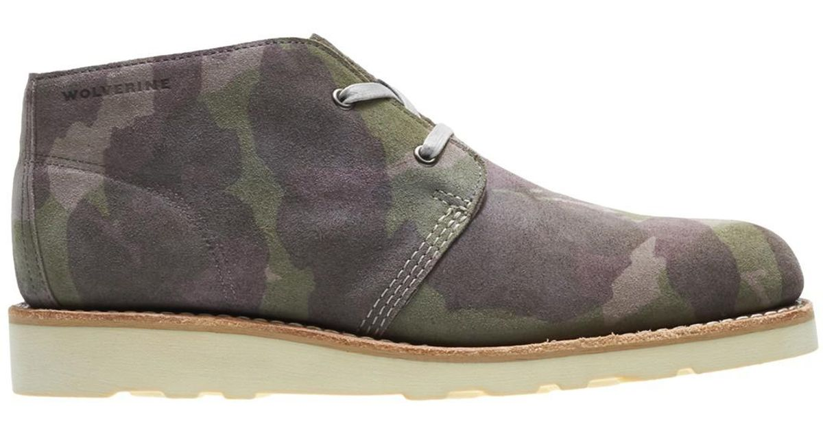 93186a37e60 Wolverine - Gray Liam Chukka Boot for Men - Lyst