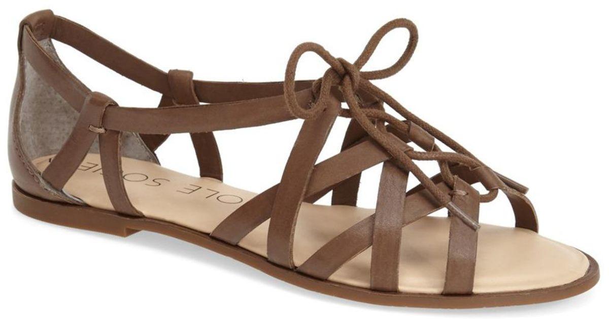 a90dd901ec64 Lyst - Sole Society  gillian  Gladiator Sandal (women)
