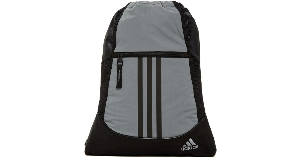 762be1c914 Adidas Originals - Black Alliance Ii Reflective Sackpack - Lyst