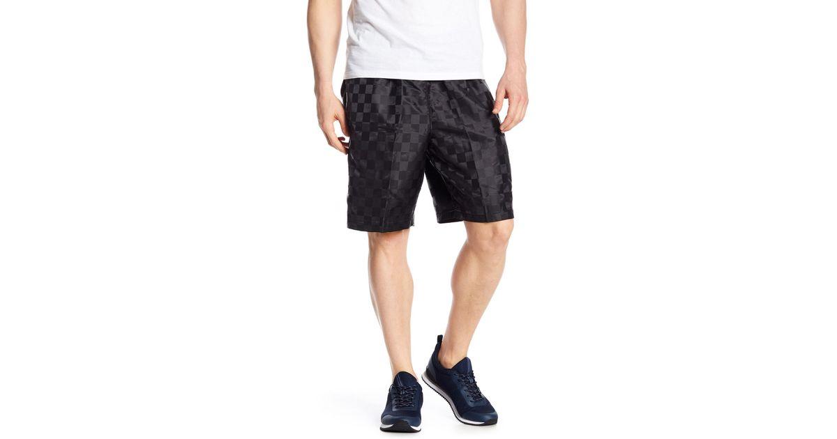 d8f0e77a39 Umbro Checkerboard Shorts in Black for Men - Lyst
