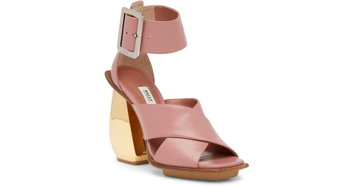 BALLY Jacinte Block Heel Sandal 48X8HNvPA