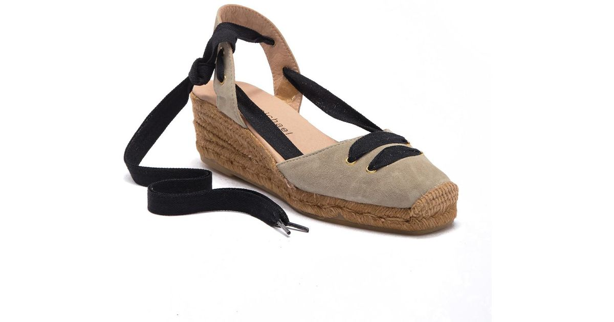 Michael Natural Sandal Bojo Lace Lyst Esapdrille Eric Up 45qRAjLc3