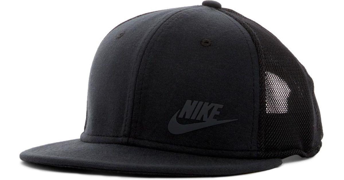 42ed5abd2 Nike Black Tech Pack True Snapback Cap for men