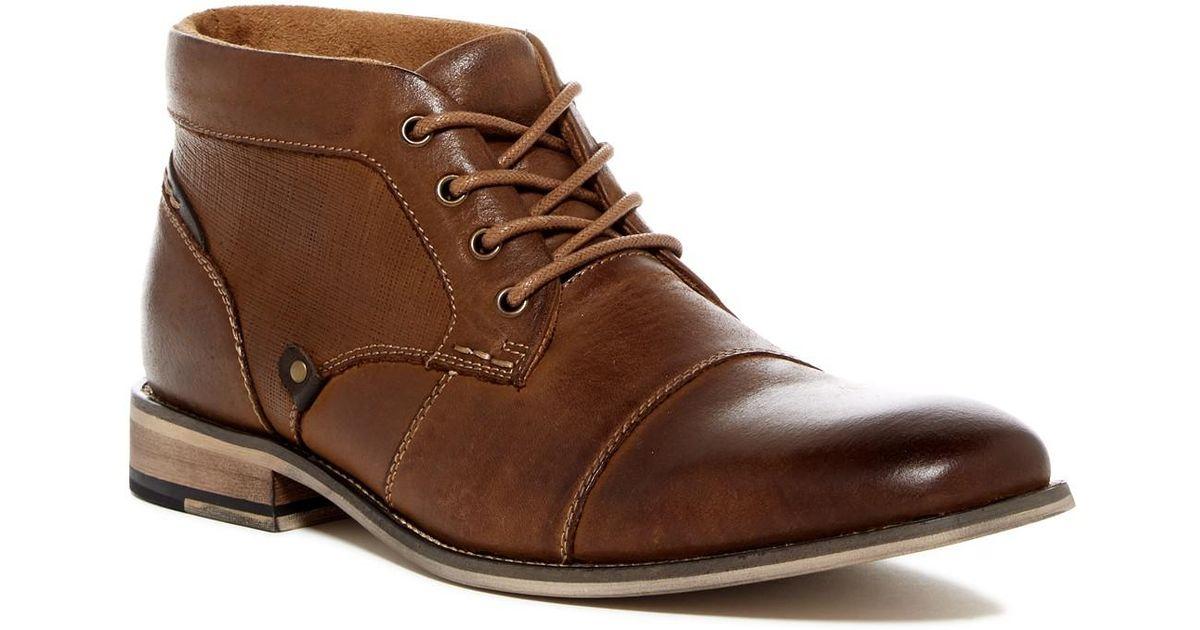 7408b311e50 Steve Madden Brown Klatin Chukka Boot for men