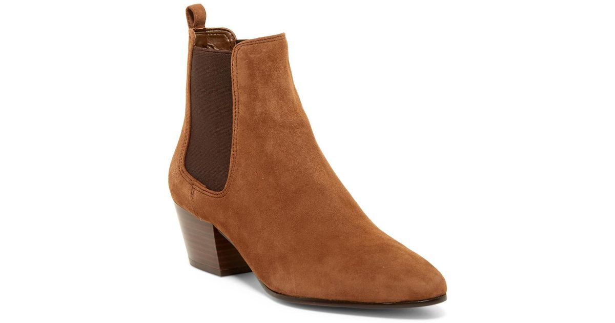68ae8fb64 Lyst - Sam Edelman Reesa Ankle Boot in Brown