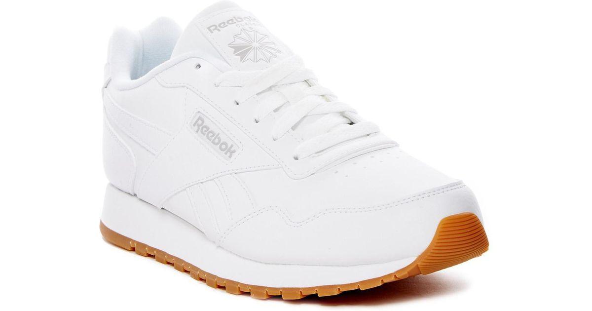 b43f74d66f3 Lyst - Reebok Classic Harman Run Sneaker (women s) in White
