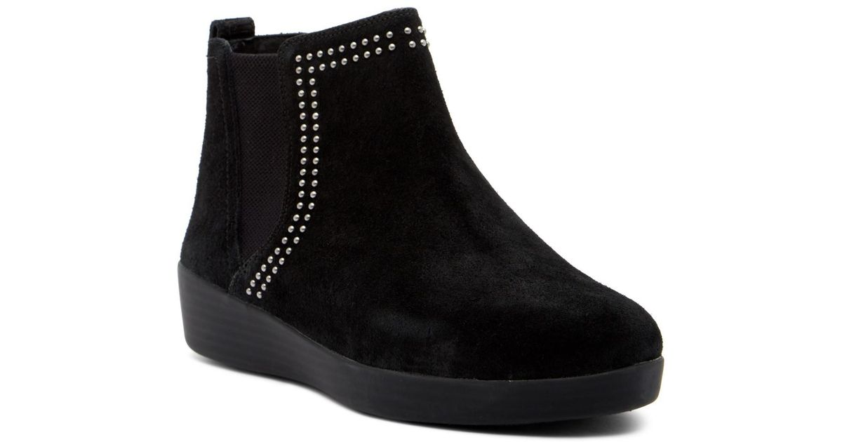 ddb23e203703 Fitflop Black Suede Boots - Best Picture Of Boot Imageco.Org