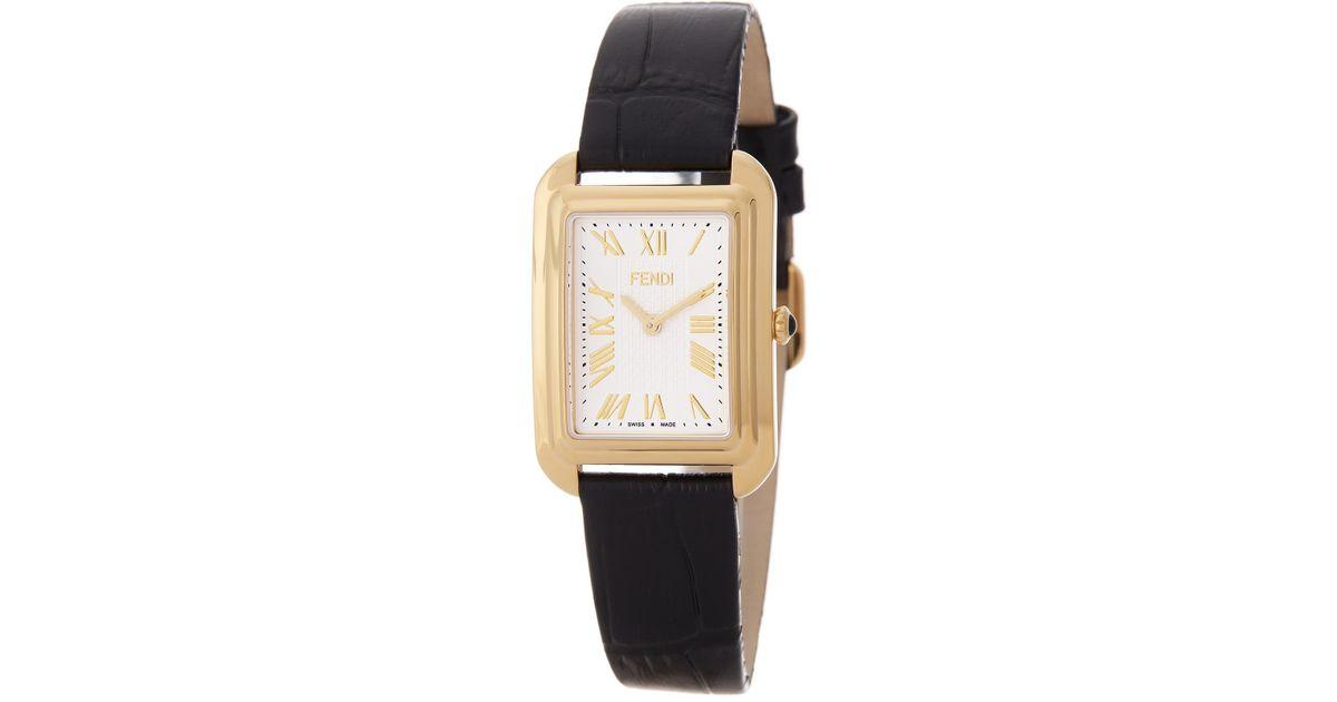 88578ad62f5c Fendi Women's Classico Leather Watch - Lyst