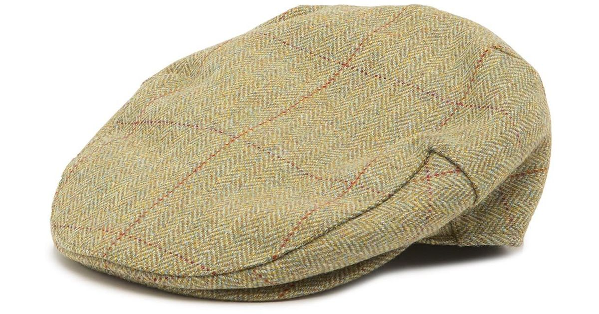 ca4ad00be6b Lyst - Barbour Crieff Cap in Natural for Men