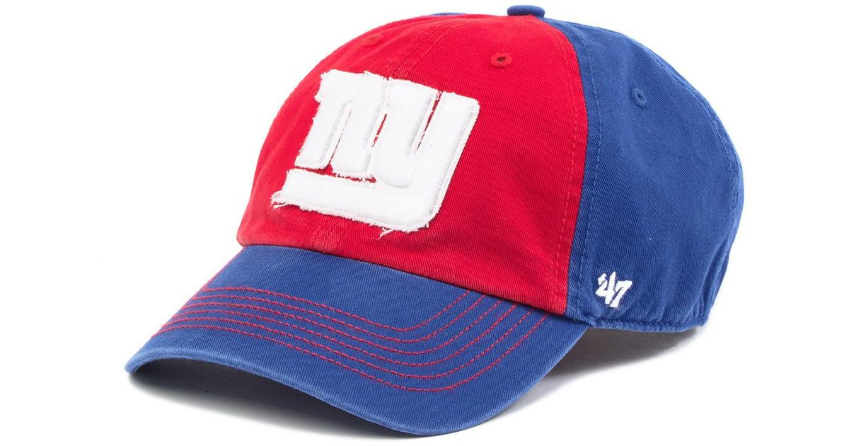 cc1a062f5334cb sweden lyst 47 brand nfl ny giants mccarthy 47 clean up cap for men cdae1  cbadd