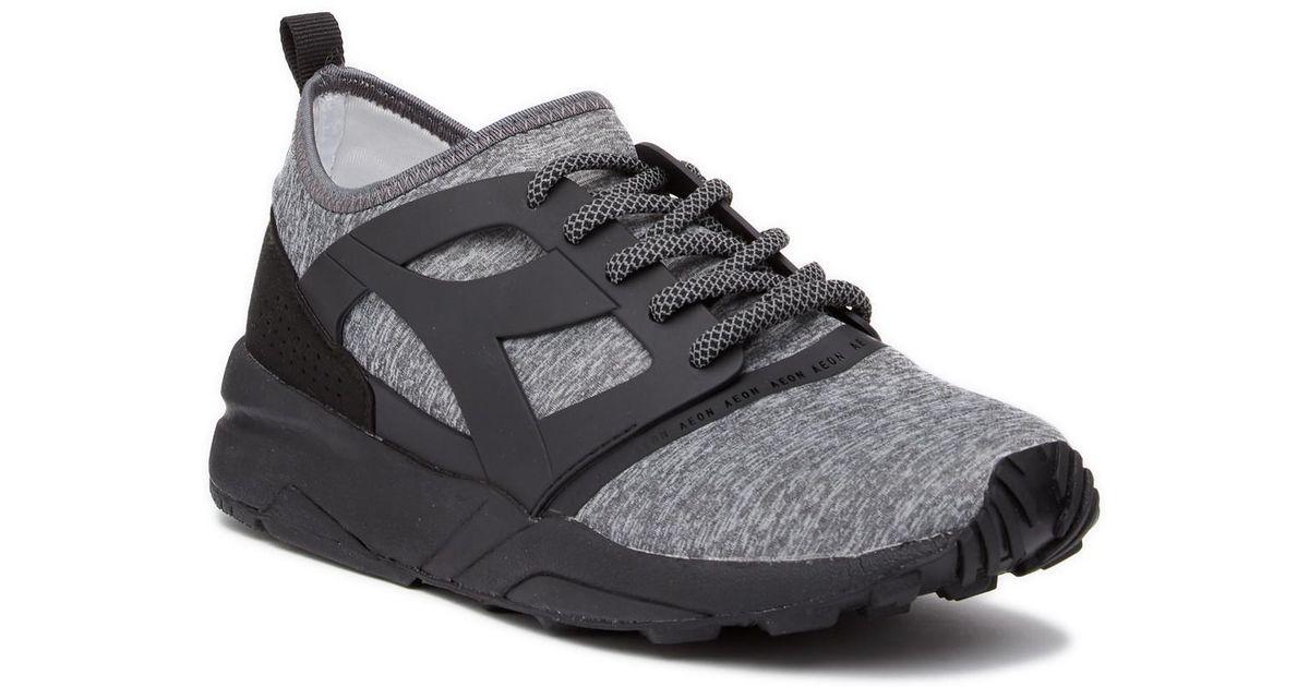 12335fec Diadora Black Evo Aeon Power Sneaker for men