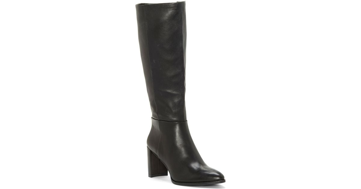 good texture outlet for sale release info on Enzo Angiolini Wenda Knee High Boot (women) (narrow Calf) in Black ...