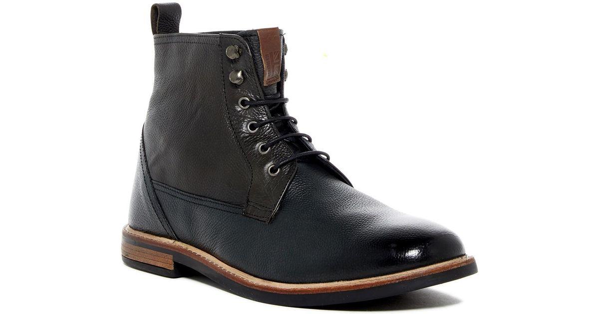 Ben Sherman Leather Brent Plain Toe
