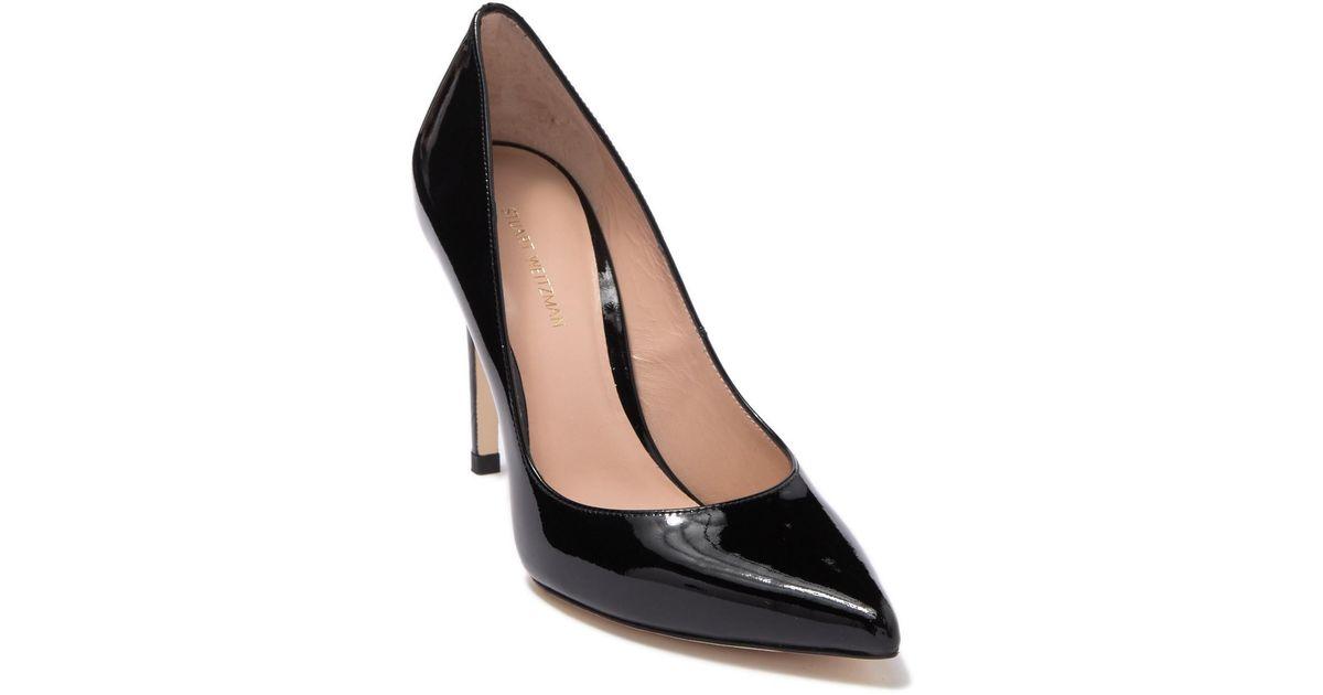 Stuart Weitzman Royal Leather Stiletto