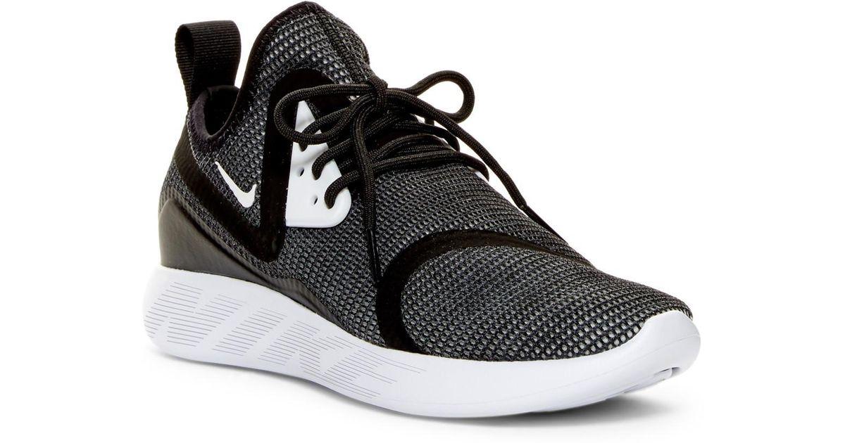 Nike Lunarcharge Br Sneaker in Black