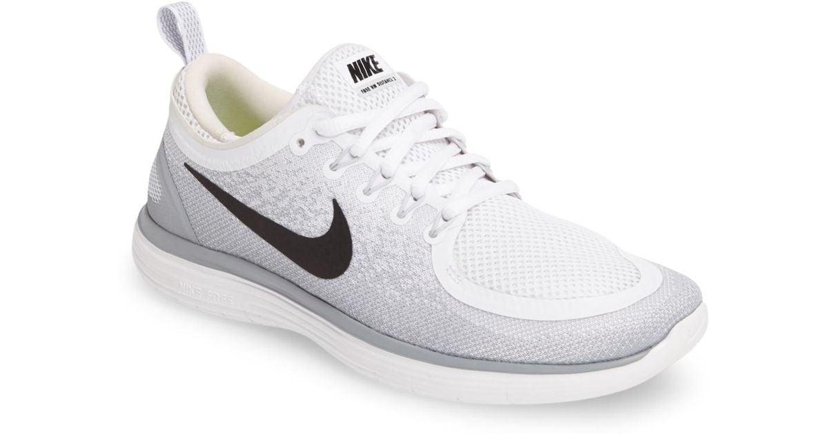 ebaef47bad2f Lyst - Nike Free Run Distance 2 Running Shoe (women) in White