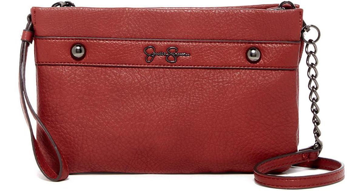 6b5b1393aded Lyst - Jessica Simpson Riahn Multi Xb Crossbody Bag in Red