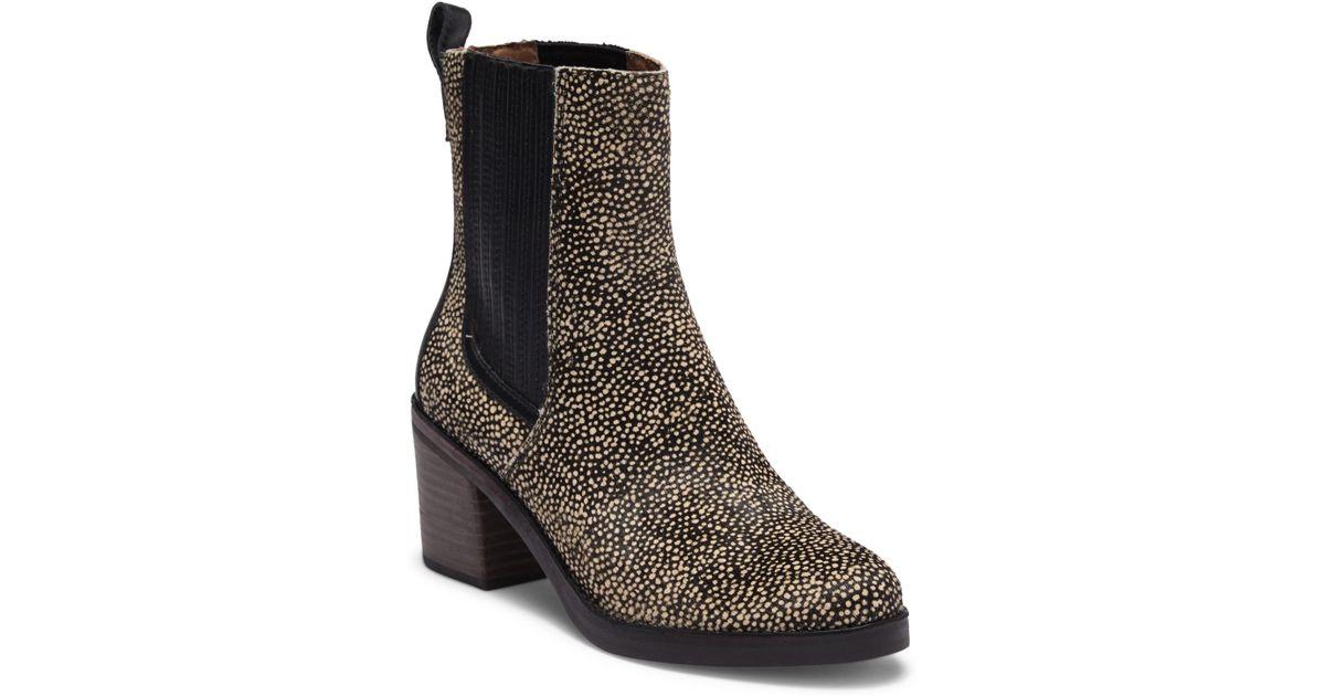 877c4e164c4 Ugg - Multicolor Camden Exotic Genuine Calf Hair Block Heel Boot - Lyst