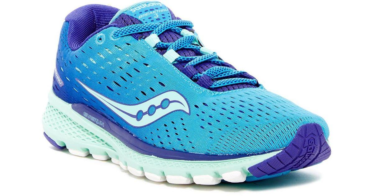 Saucony Blue Breakthru 3 Sneaker Lyst