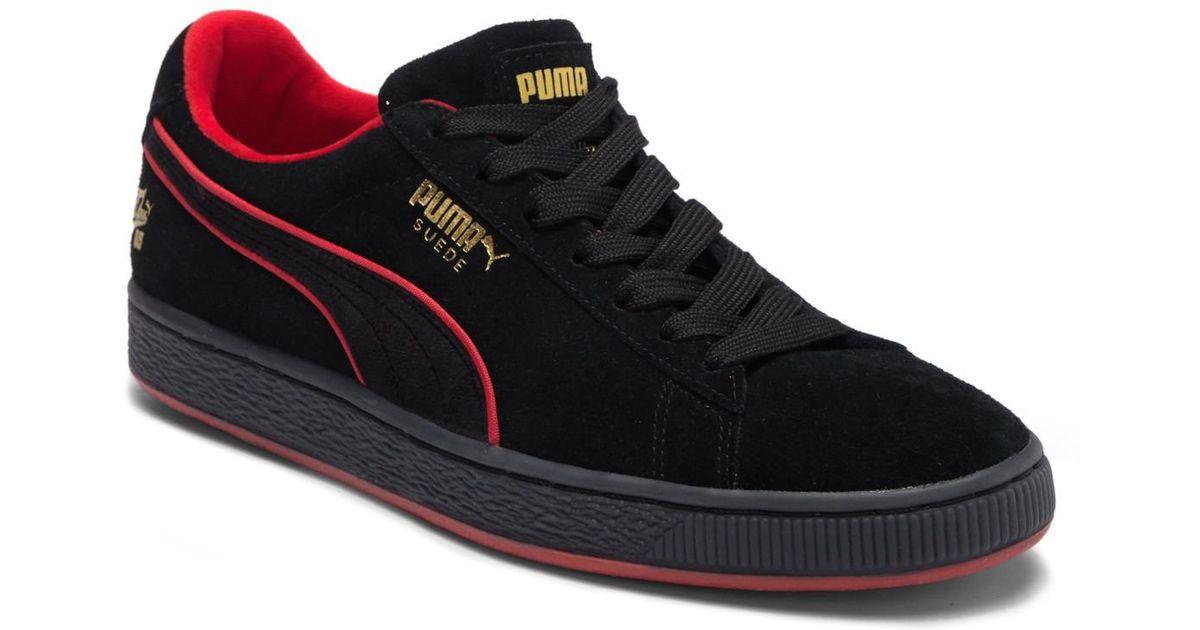 Lyst - PUMA Classic X Fubu Suede Sneaker in Black for Men b42effaf2