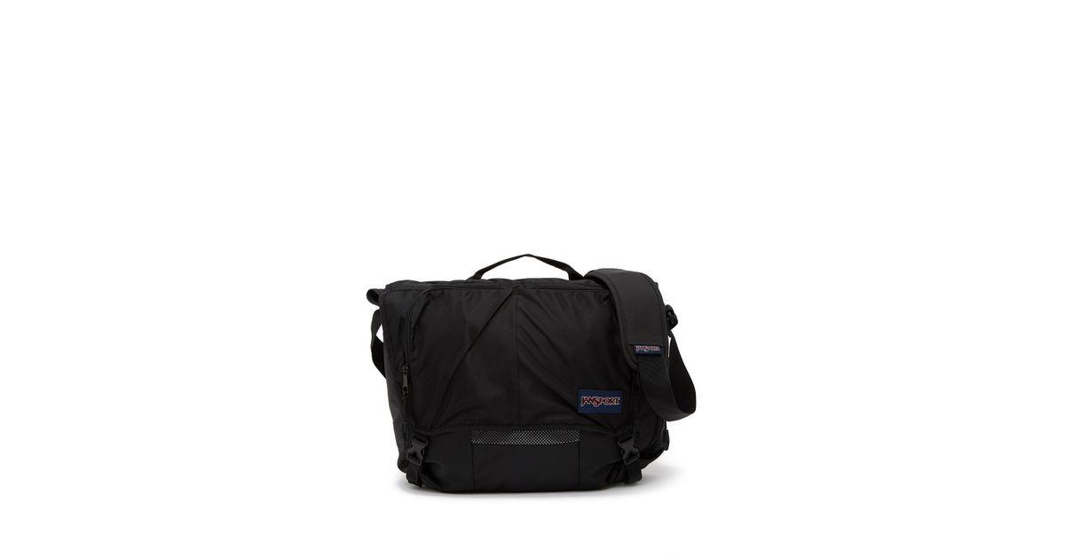 9b77c6f80a9c Lyst - Jansport Network Messenger Bag in Black for Men