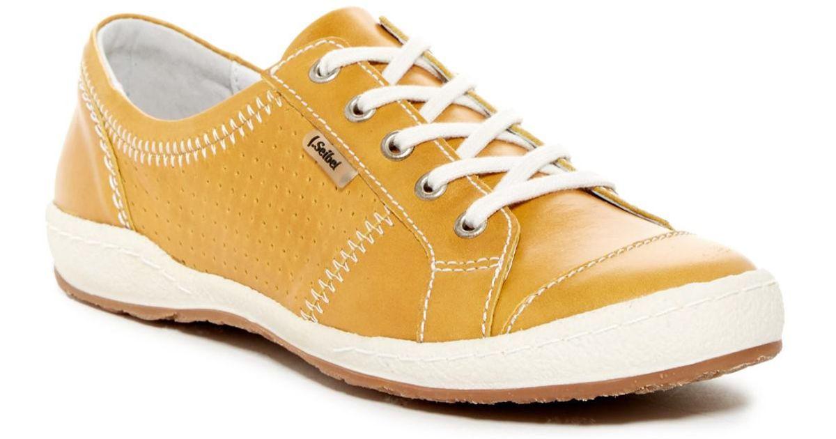 Josef Seibel Leather Caspian Sneaker in