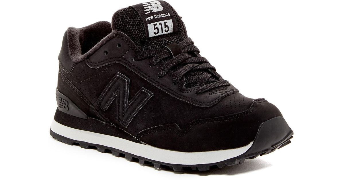 6d0dec555a8 Lyst - New Balance 515 Classic Walking Shoe in Black for Men