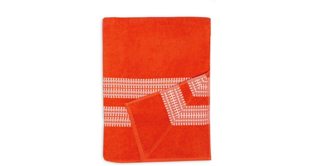 633fd9b0cc5 Ugg - Orange (r) Bay Stripe Beach Towel - Lyst