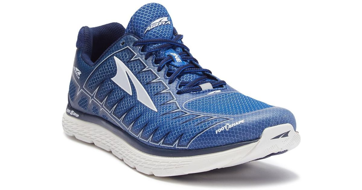 new concept a56bc 3956a Altra - Blue One V3 Running Sneaker for Men - Lyst