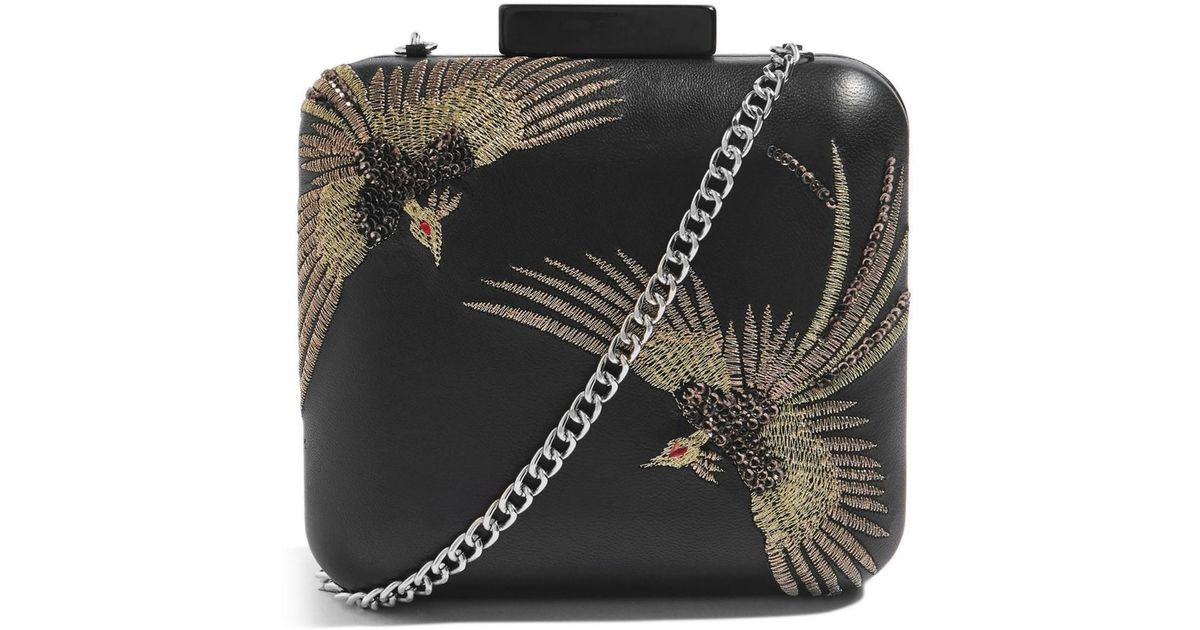 TOPSHOP Leather New Ava Bird Cross Body Bag new with tags