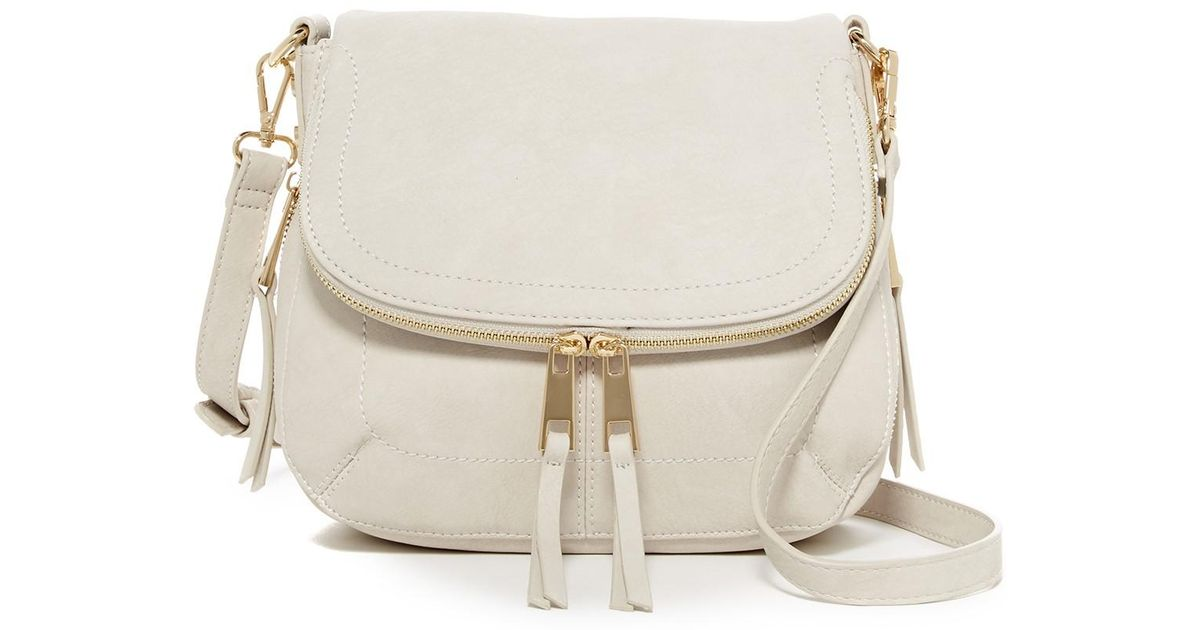 Lyst - Urban Expressions Eden Vegan Leather Crossbody in White 130ec660177ce