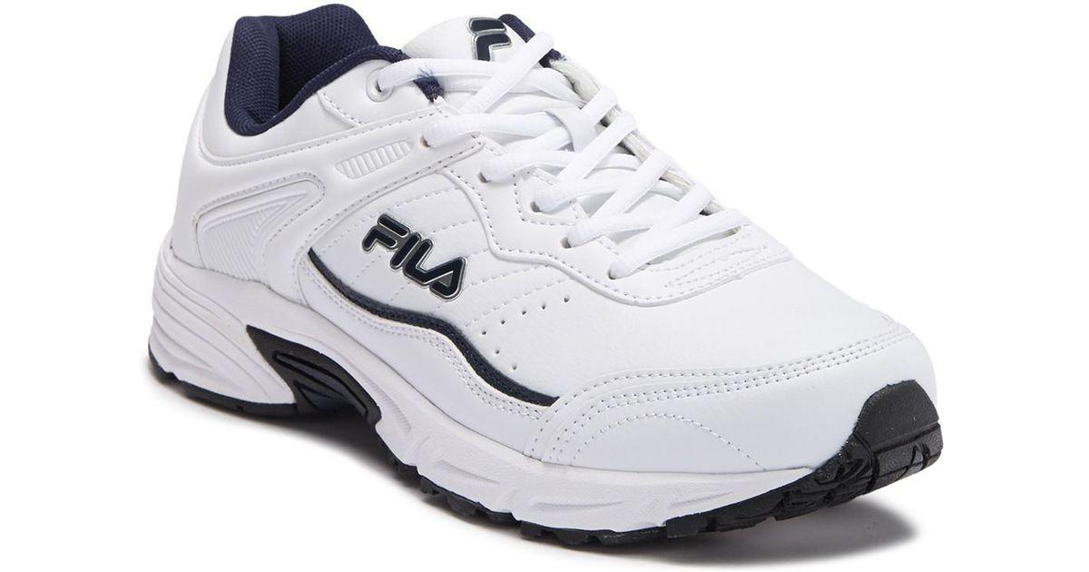 6f31f4a30aea Lyst - Fila Memory Sportland Sneaker - Wide Width Available for Men