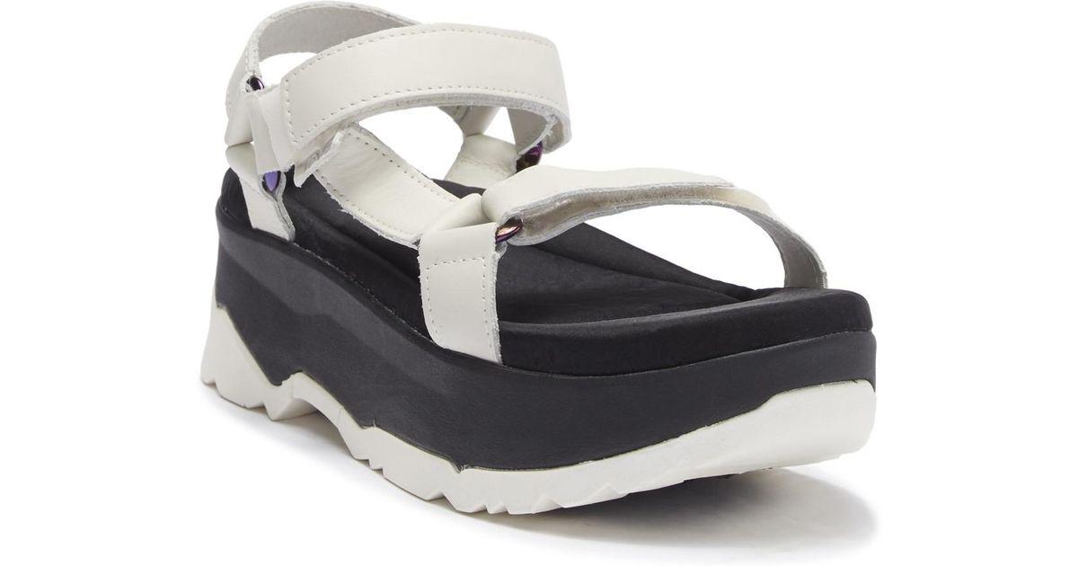 e8ef2a0b7b18da Lyst - Teva Zamora Universal Platform Sandal