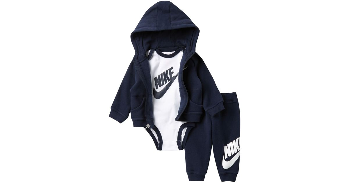 0c1b4e213 Nike Futura 3-piece Gift Set (baby Boys) in Blue for Men - Lyst
