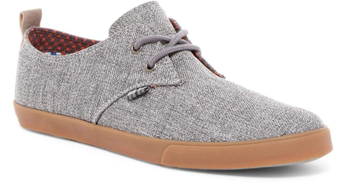 Bristol Lace-up Sneaker in Grey