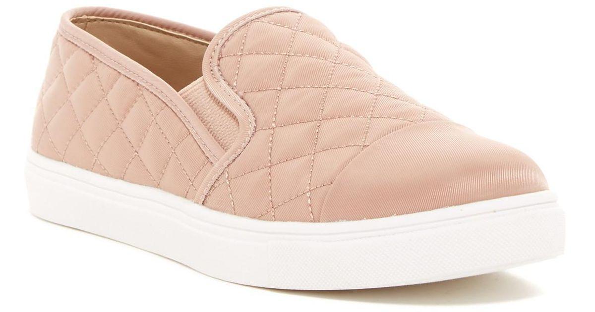 4a7ca481952 Lyst - Steve Madden Zaander Slip-on Sneaker in Pink