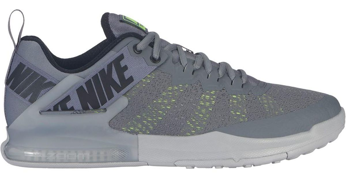 Nike Gray Zoom Domination Tr 2 Training Sneaker for Men Lyst