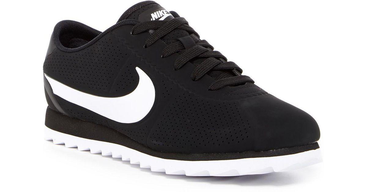 ad11c87ee4b Lyst - Nike Cortez Ultra Moire Sneaker in Black