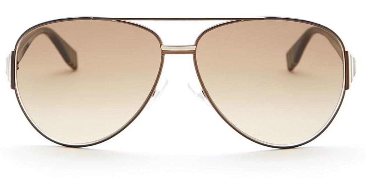 979b91ace486 Lyst - Fendi Women s Aviator Sunglasses
