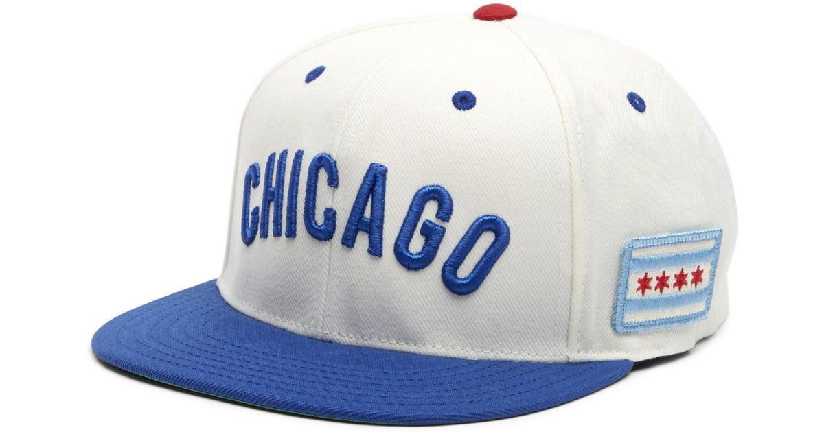 d5b0a6eaca92a8 Lyst - American Needle United Chicago Cubs Baseball Cap in White for Men