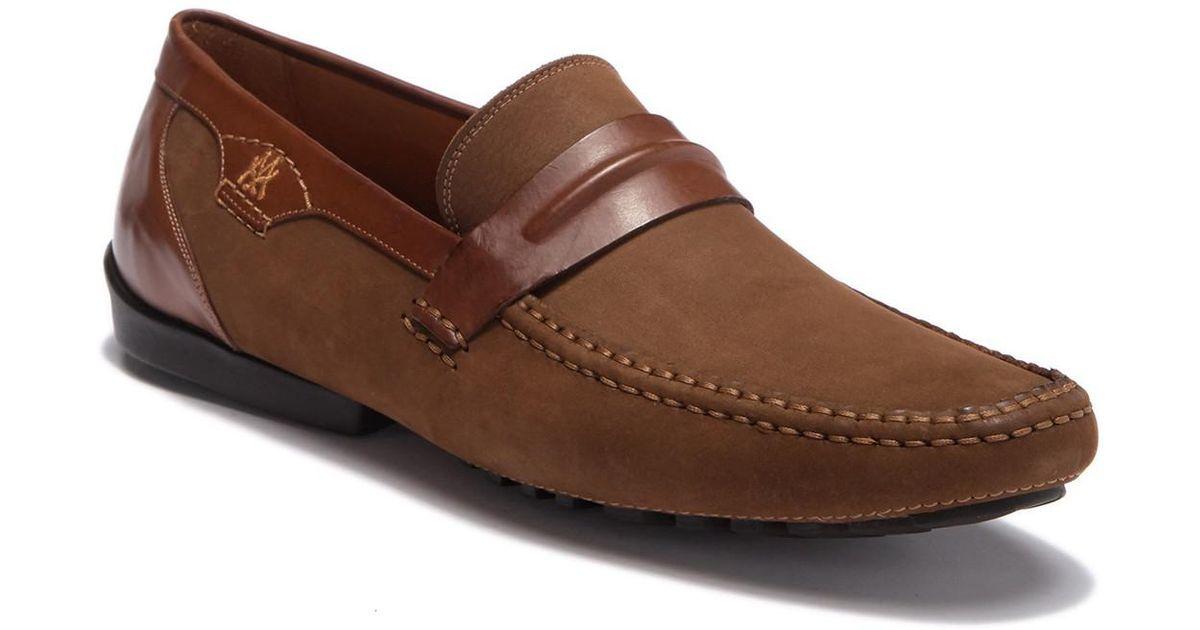 867635ee860 Lyst - Mezlan Servet Driving Shoe in Brown for Men