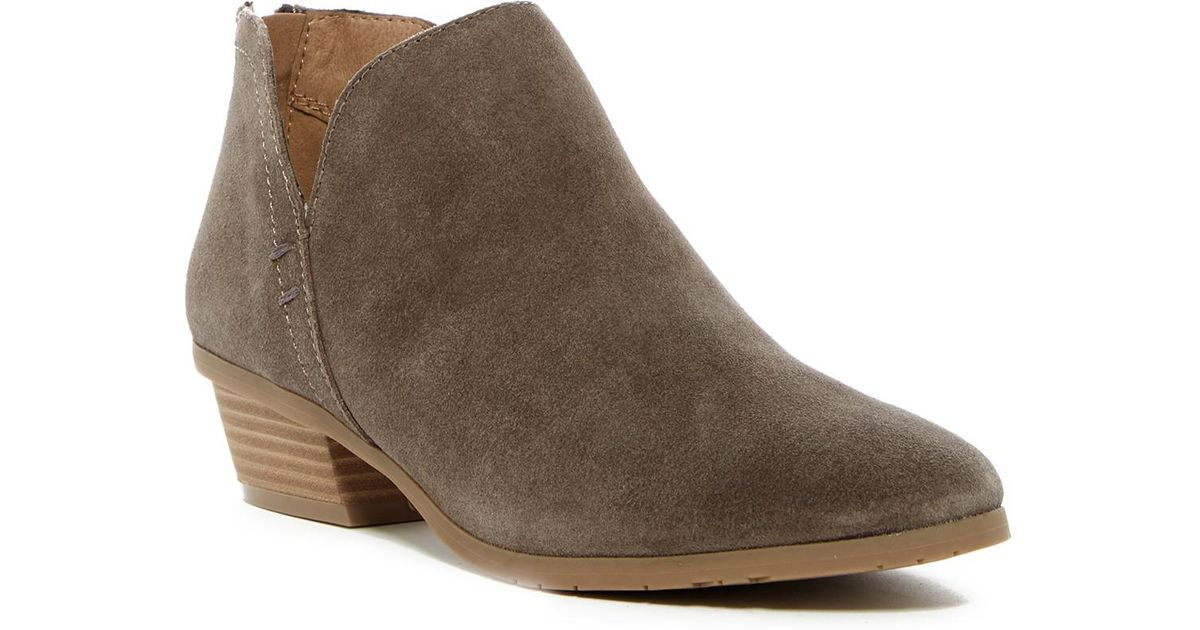 7bf8c5a19ff Kenneth Cole Reaction Gray Side Way Ankle Bootie